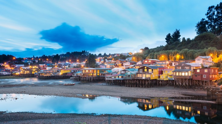 Chiloe Island in Chile is one of the best places to visit in Chile