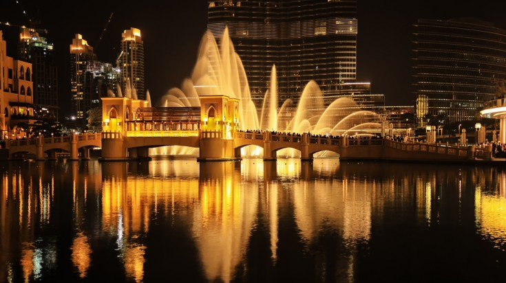 Places to visit in Dubai The Dubai Fountain