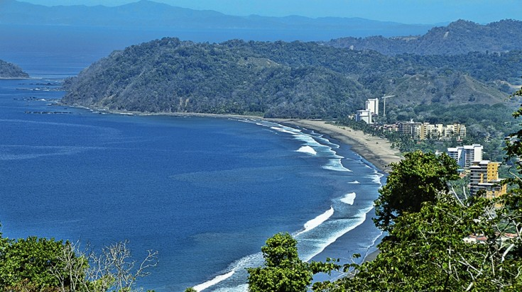 Playa Jaco is the closest beach to San Jose to surf in Costa Rica
