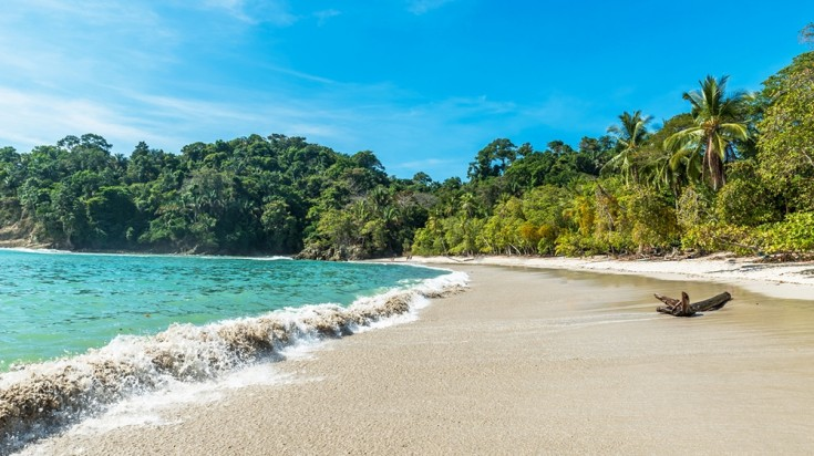 Playa Manuel Antonio is a popular beach destination in Costa Rica