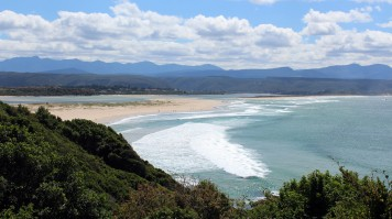 Plettenberg beach in Garden Route National park