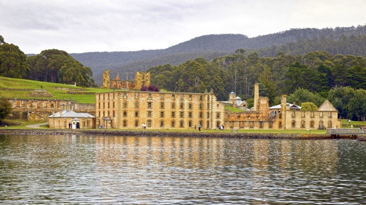 The Port Arthur Historical site is an open air museum in Tasmania.