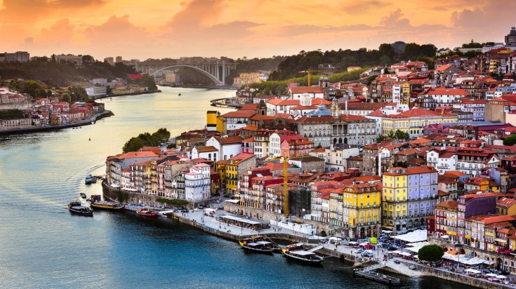 Known for its wine production Porto is a coastal city in Northwest Portugal
