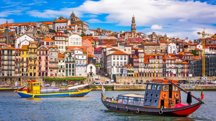 Porto is a compact city in Europe that is a great summer destination.