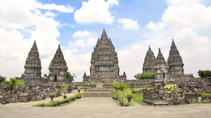 Prambanan is the largest Hindu Indonesian temple