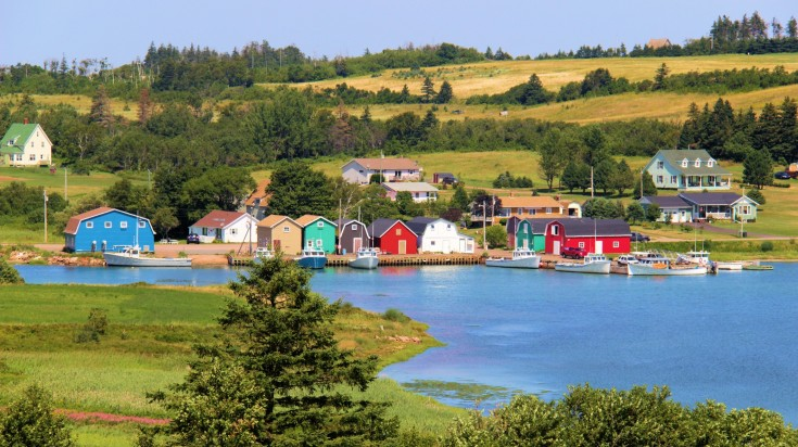 Prince Edward Island is a vibrant town in Canada and a must visit.