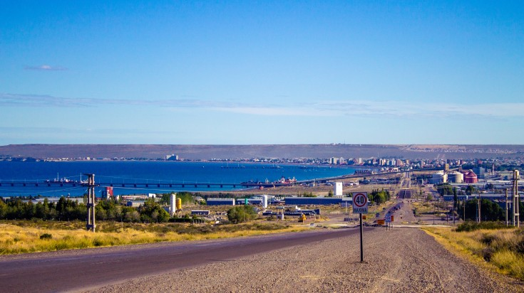 Puerto Madryn in Argentinian Patagonia