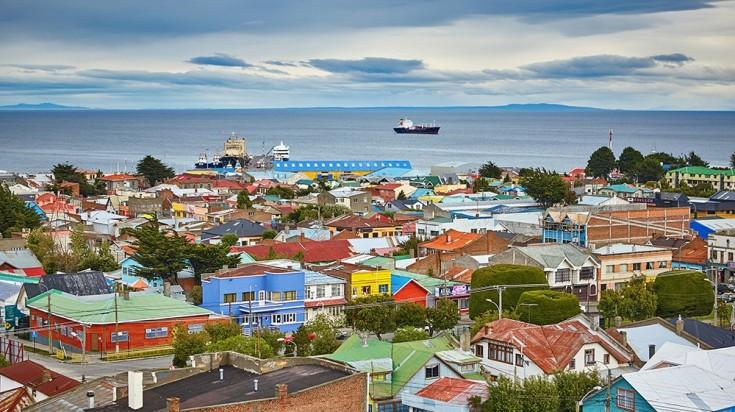 Punta Arenas in Tierra del Fuego