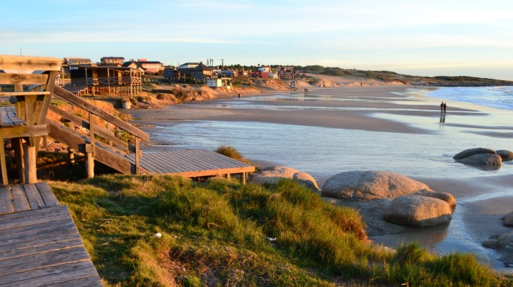 Punta del Diablo is the best beach destination in Uruguay.