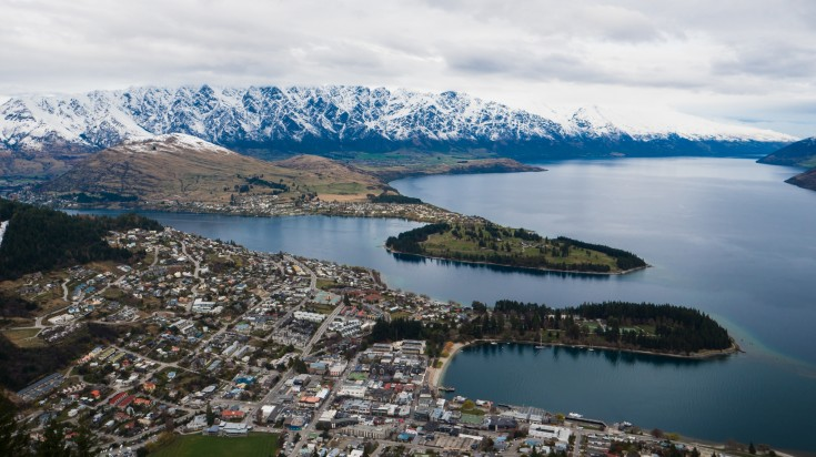 Queenstown is a stunning resort town in the south-west of New Zealand.