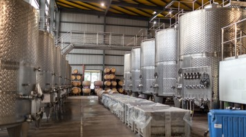 Wine Making Room in Quintay Wine Estate
