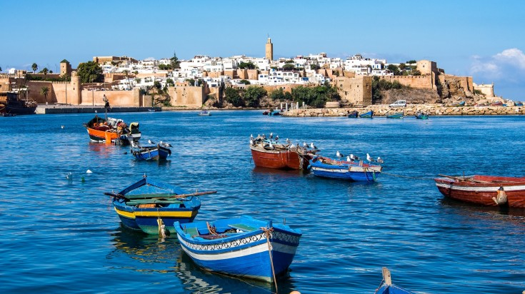 Rabat is a place where you will find lots of handicraft and architecture.