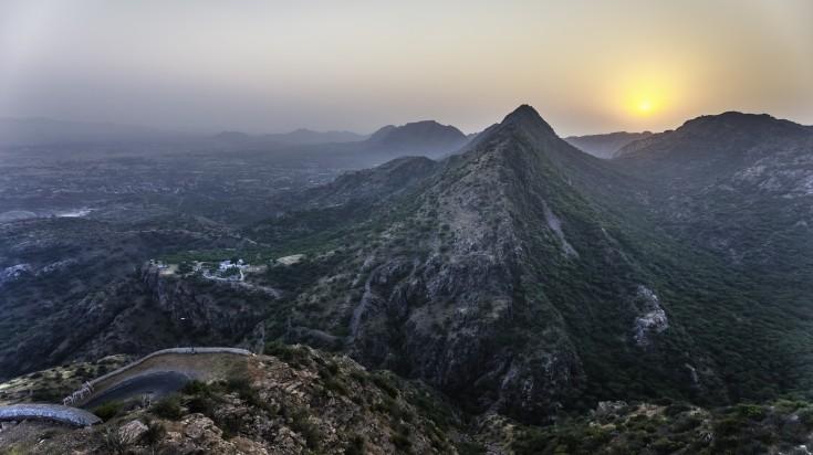 Arvalli Hills in Rajasthan