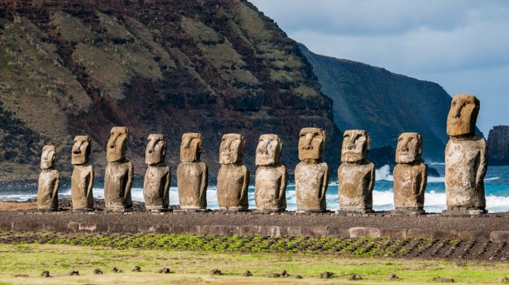 Easter Island in Chile is a must visit