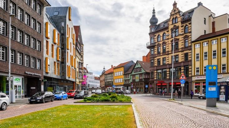 Eisenach is the town where Rennsteig hiking trail begins