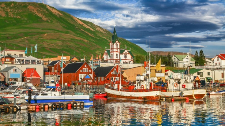 Reykjavik is a charming city with a lot of activities.