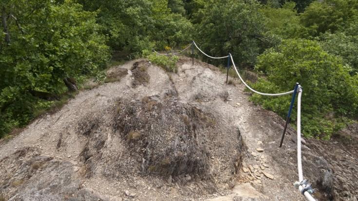 Rheinsteig involves 9,969 m of descent