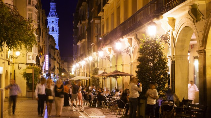 Logrona in Rioja
