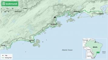 Costa Verde road trip map