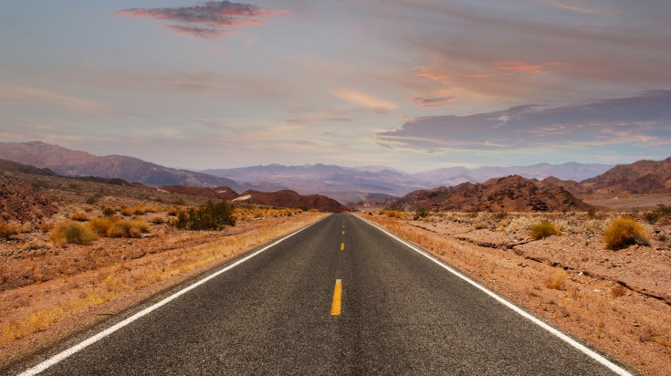 Loneliest Road in United States