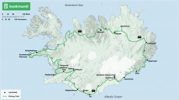 Ring Road trip map