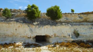 Limestone Quarry in Robben Island