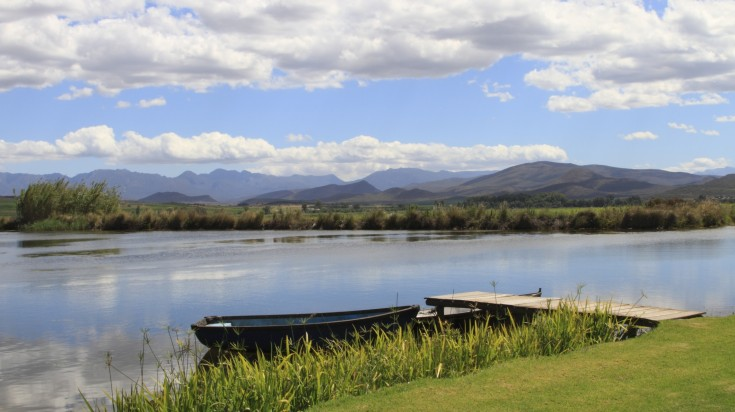 Breede River in Robertson