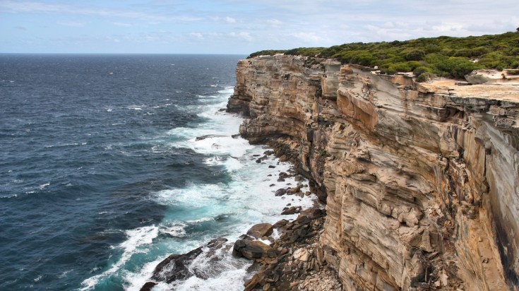 Royal National Park lookout for whale watching in Sydney
