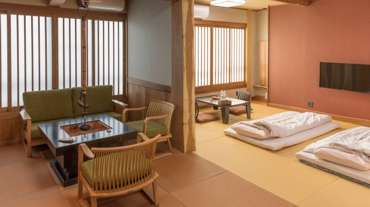 Ryokans offer a very relaxing environment and one must stay in a ryokan when you're hiking the Kumano Kodo trail.