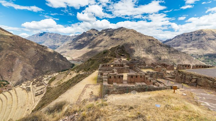 A trip to the Sacred Valley opens you to access to Inca ruins