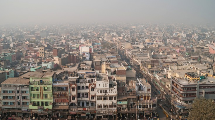 Pollution in India is a safety issue for many travelers