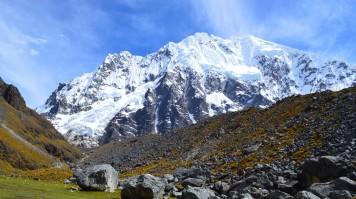 Ancascocha trek to Machu Picchu provides views of the Salkantay mountain