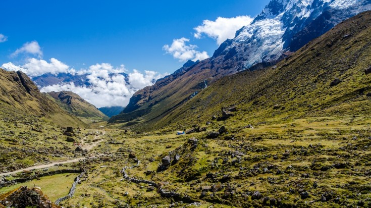 Salkantay trek is one of the best treks in Peru