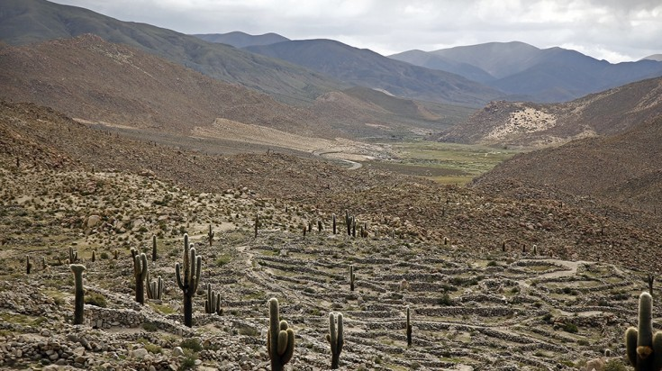 Tastil ruins in Salta