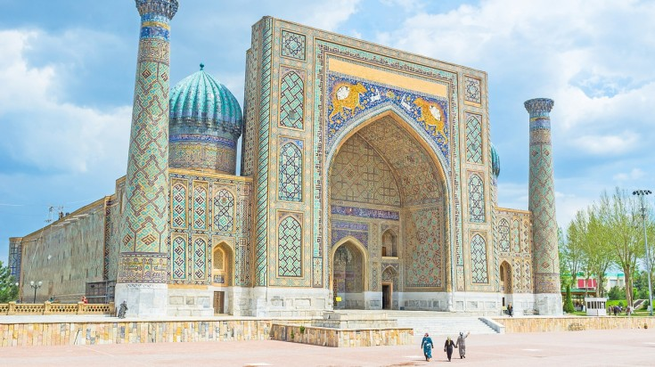 Samarkand is believed to be one of the oldest settlements of humans in Asia