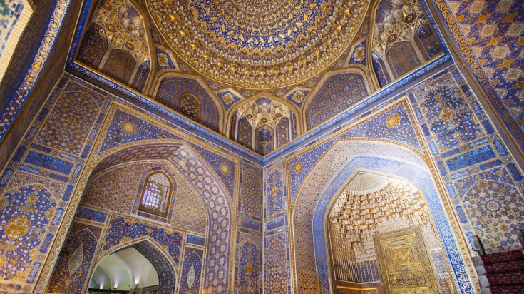 Samarkand's a great place to explore the stunning architecture of old world