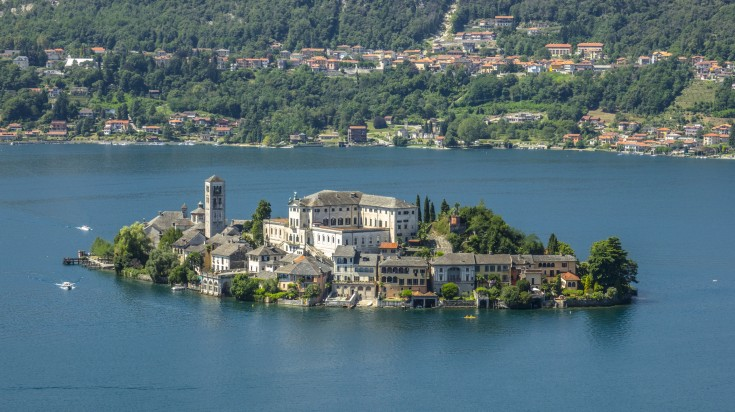 A visit to San guilo is a must when you visit Lake Orta