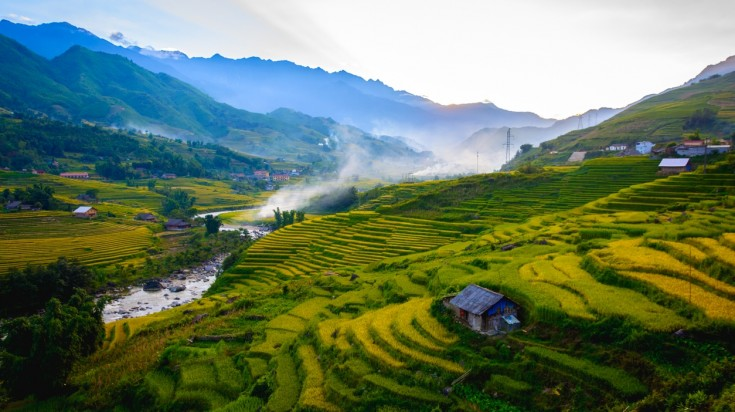 Sapa has a lot of mountainous regions