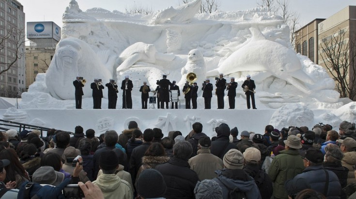 Sapporo is one of the best places to visit in Japan if you want to attend the biggest winter fest in Japan.