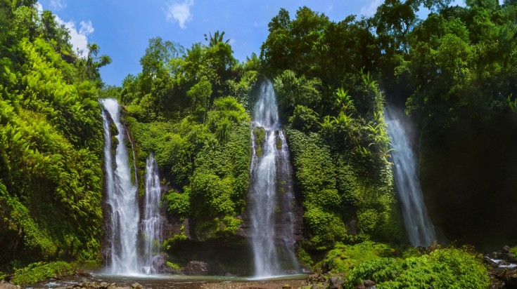 Sekumpul makes for an exciting hike in Bali to the tallest waterfall.