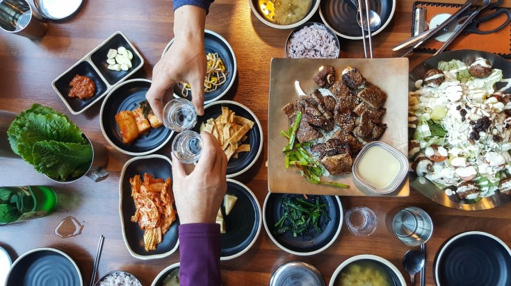 Seoul street food experience would be incomplete without eating Korean bbq