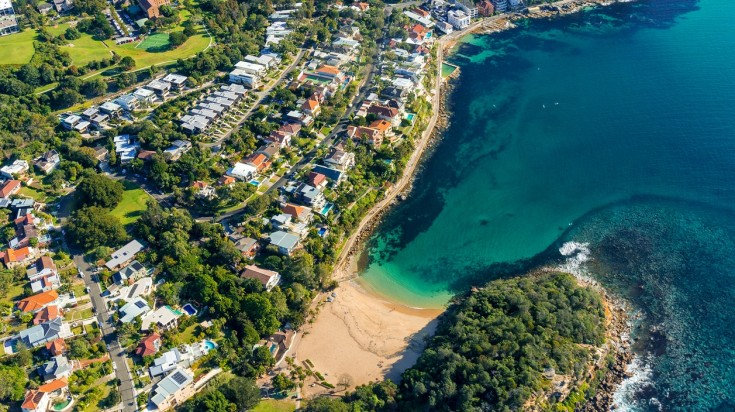 Shelly Beach at Manly is a great place to enjoy calmer waters for diving.