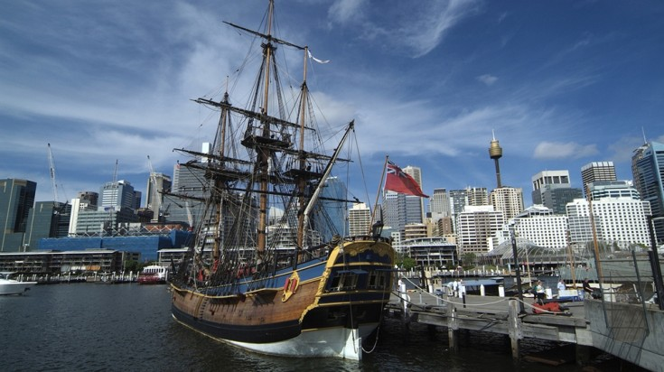 The museum is where visitors to Sydney will get to board classical ships.