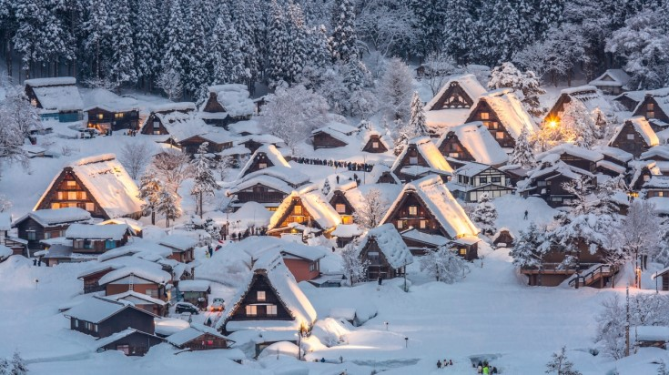 Shirakawa-go and Gokayama village, famous for its cluster of houses is one of the top off the beaten paths in Japan.