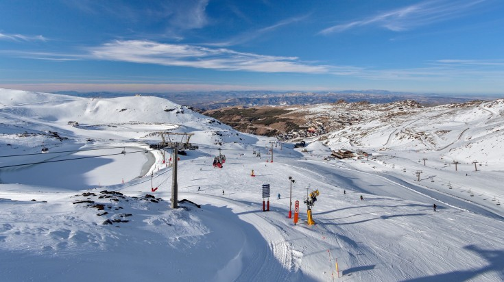 Sierra Nevada is a stunning mountain range in the region of Andalucia.