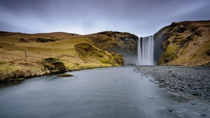 Skogafoss is one of the beautiful waterfalls in Iceland