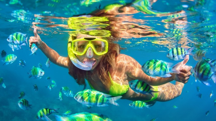 Snorkeling in Cahuita is the best experience to be had.