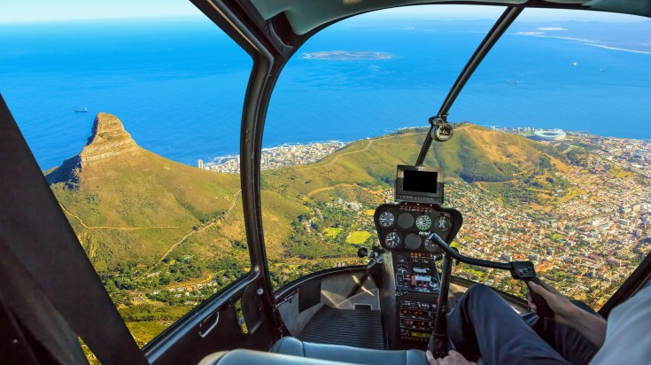 Helicopter rides in South Africa