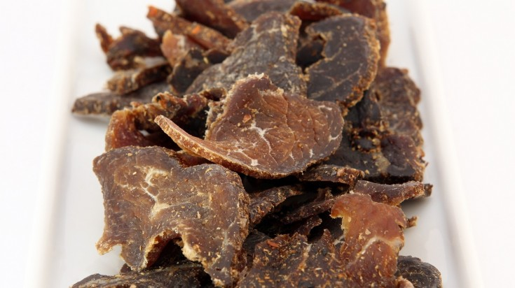 Traditional South African Food Biltong