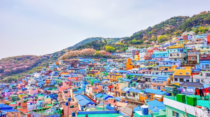 The intriguing village known as Gamcheon at Busan
